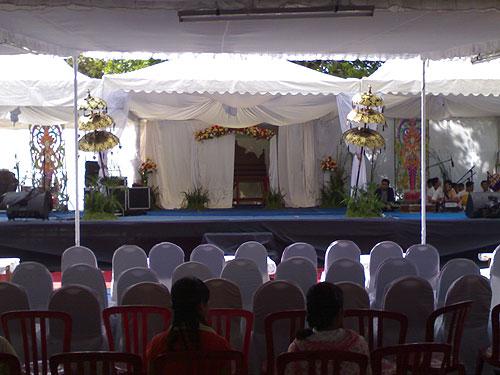 jasa sewa panggung di Bali